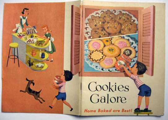 Post Cereal Cookies Galore Vintage Recipe Booklet