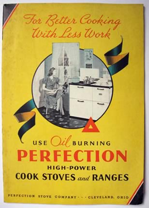 Perfection Stove Company Vintage Brochure
