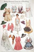 1918 Betty Bonnet Goes to a Wedding (Bride) Paper Dolls