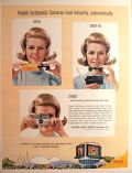 1964 Kodak Instamatic Ad ~ Open, Drop In, Shoot