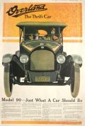 1918 Willys Overland Ad ~ Model 90 ~ What a Car Should Be