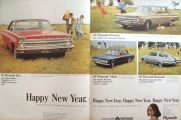 1965 Plymouth Ad ~ Fury, Barracuda, Valiant
