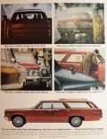 1964 Pontiac Tempest Station Wagon Ad ~ Not Humdrum