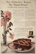 1919 Sunmaid Raisins Ad ~ A Wartime Treat
