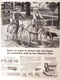 1963 Western Auto Bike Ad ~ Cosmic Flyer & London Flyer