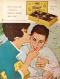 1963 Whitman's Candy Ad ~ Mother's Day