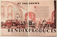 1930 Bendix Aviation Ad ~ Automobile Products