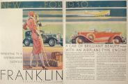 1930 Franklin Auto Ad ~ Distinguished Clientele