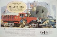 1929 Willys Six 1½ Ton Truck Ad