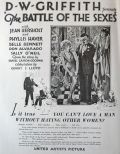 1928 Battle of the Sexes Movie Ad ~ D.W. Griffith