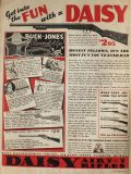 1935 Daisy Air Rifle Ad ~ Buck Jones
