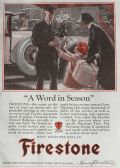 1928 Firestone Tires Ad ~ A Word in Season