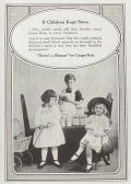 1918 Grape Nuts Cereal Photo Ad ~ If Children Kept Store