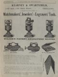 1882 Kearney & Swartchild Jewelers & Engravers Tools Ad