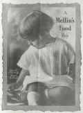 1919 Mellin's Baby Food Ad ~ Paul Moore, Jr. ~ York, SC