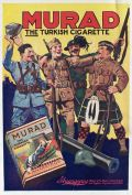 1919 Murad Turkish Cigarettes Ad ~ Happy Soldiers