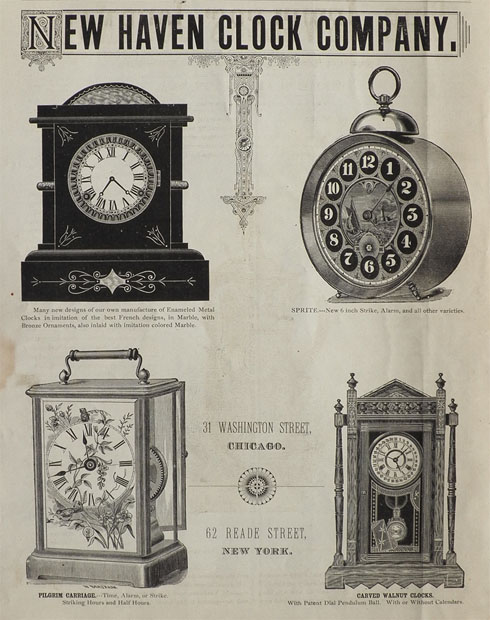 Image result for new haven clock company