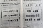 1886 Swartchild Cameos & Gem Stones Jewelers Ad ~ 6 Pages