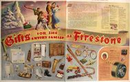 1941 Firestone Tires & Rubber Ad ~ Vintage Christmas Gifts