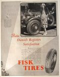 1928 Fisk Tires Ad ~ Bebe Daniels Photo