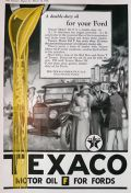 1926 Texaco Oil Ad ~ For Your Ford