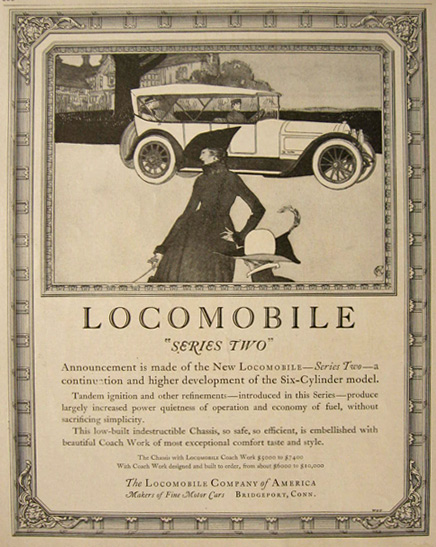 "1917 Locomobile ""Series Two"" Ad"