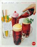 1960 Coca Cola Ad ~ How To Make A Coke Float