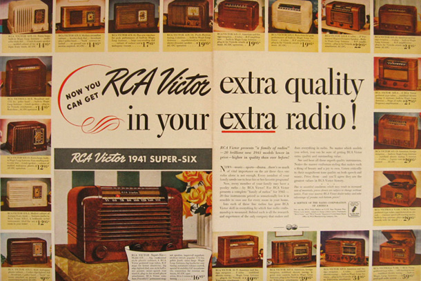 Image result for vintage rca radio