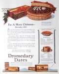 1923 Dromedary Dates Ad ~ Cake & Pie Recipes