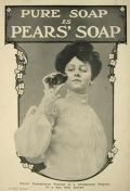 1903 Pears Soap Ad ~ Woman Looks Into Mirror
