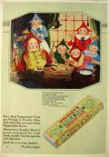 1927 Wrigley's Double Mint Gum Ad ~ Mother Goose Up-To-Date ~ Song of Sixpence