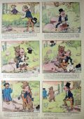 1907 Nervy Nat Comic Strip ~ James Montgomery Flagg