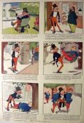 1906 Nervy Nat Comic Strip ~ James Montgomery Flagg