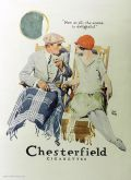 1926 Chesterfield Cigarettes Ad ~ The Aroma is Delightful