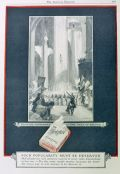 1925 Chesterfield Cigarettes Ad ~ Thief of Bagdad