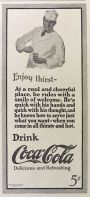 1923 Coca Cola Coke Ad ~ Soda Jerk