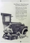 1923 Dodge Brothers Ad ~ Man with English Setter Dog