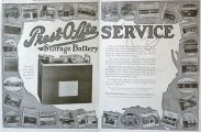 1916 Prest-O-Lite Car Battery Ad ~ Photos of Branches