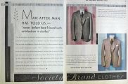 1930 Society Brand Men's Suits Ad ~ Satisfaction in Clothes