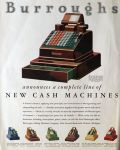 1931 Burroughs Adding Machine Cash Register Ad