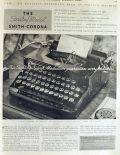 1931 Smith Corona Typewriter Ad ~ Sterling Model