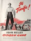 1941 Movie Ad ~ Citizen Kane ~ Orson Welles