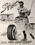 "1941 Fisk Tires Ad ~ Joe ""Flash"" Gordon"