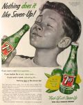 1955 Vintage Seven 7-Up Ad ~ Nothing Does It