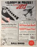 1953 Ball-Band Red Ball Jets Sneakers Ad