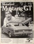 1967 Motorized Toy Mustang GT Ad