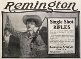 1903 Remington Single Shot Rifles Ad ~ Boy with Hare