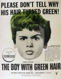 1948 The Boy With Green Hair Movie Ad ~ Dean Stockwell