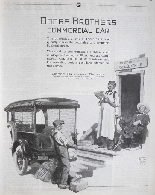 1924 Dodge Brothers Commercial Car Ad