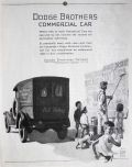 1924 Dodge Brothers Commercial Car Ad ~ Poster Company Truclk